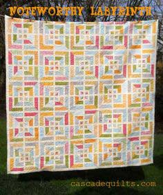 Noteworthy Labyrinth Quilt