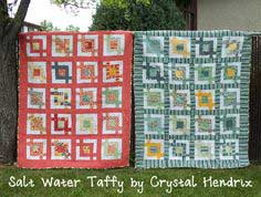 Salt Water Taffy Boy and Girl Quilts