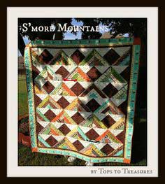S'more Mountains Jelly Roll Quilt