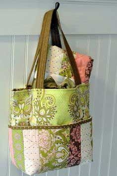 Hushabye Tote Bag and Coin Quilt