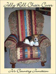 Jelly Roll Chair Cover