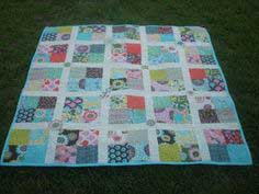 Sugar Garden Throw Quilt