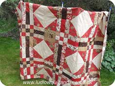 French General Jelly Roll Quilt