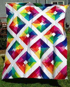 Kite Flight Quilt Top