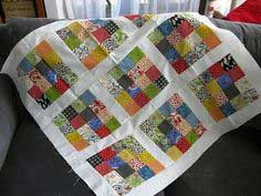 Jelly Roll Baby Quilt Tutorial