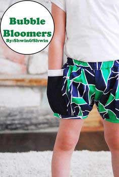 Bubble Bloomers {Shorts on a line}