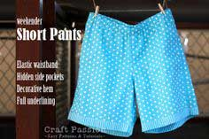 Sewing: Short Pants {With Free Pattern & Tutorial}