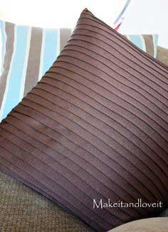 Decorate My Home, Part 14 – Pleated Pillow Covers