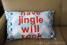 Have Jingle Pillow Tutorial + Sew Merry and Bright Book Giveaway