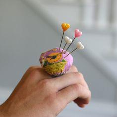 PIN CUSHION RING: 5-MINUTE PROJECT!