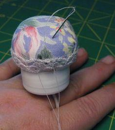 Bottlecap Pin Cushion