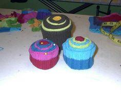Cupcake DIY Pin cushion