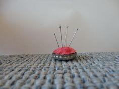 Bottle Cap Pincushion