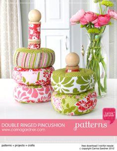 Double Ringed Pincushion Tutorial