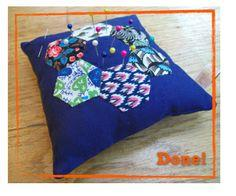 How To: Make a Patchwork Pincushion