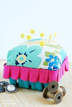 BERRY BASKET PINCUSHION