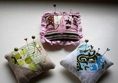 Sweetheart Pin Cushion Tutorial