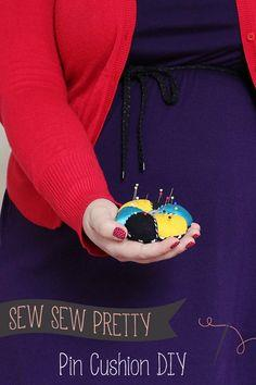 PIN CUSHION DIY {SEW SEW PRETTY}