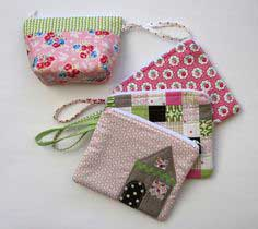 sew along with me!: zippered pouch