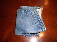 Denim Pocket Wallet: For a pocket, from a pocket