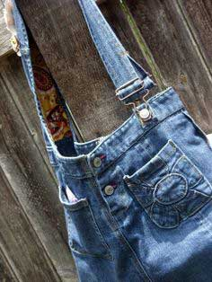 Chic Denim Bag
