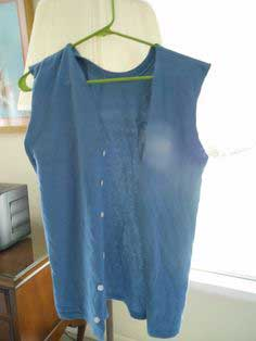 Make a Vest from a T-Shirt