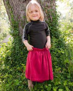 Clothing Remade: Sew a Child's Skirt from an Adult T-Shirt