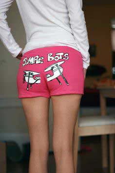 Hot Pants from T-shirt