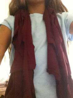 Easy Awesome Fashionable Scarf!