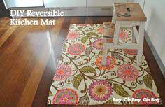 DIY KITCHEN MAT