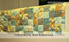 Fat Quarter Gang - Patchwork Mat by Don't Call Me Betsy