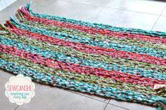 Show Off Saturday: My big braided rug... total stash buster!