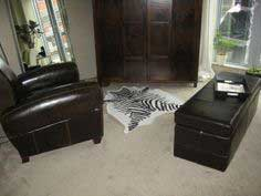 How to make a faux zebra hide rug