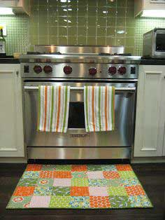 Quilted Kitchen Floor Mat