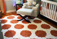CHASE'S NURSERY – DIY PAINTED IKEA RUG