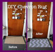 DIY Chevron Rug Step-by-Step Instructions (with pictures)