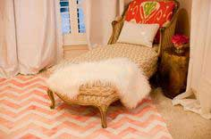 Painted Chevron Rug Tutorial