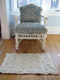 Makeover — Recycled Sweater Rug