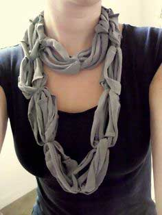 Recycled Tee Scarf