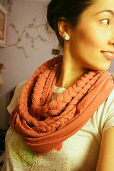 DIY Nani Iro Muffler & some hints for the DIY braided scarf