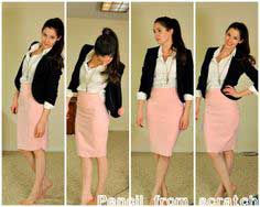 STRETCHY KNIT PENCIL SKIRT