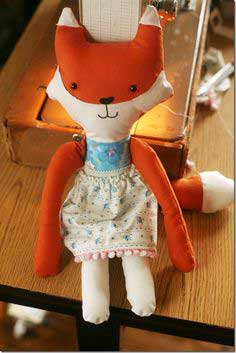 Cookie The Fox: Free Doll Pattern