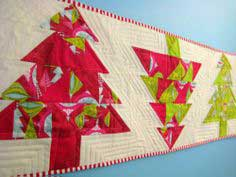 Christmas in July ~ Christmas Tree Table Runner