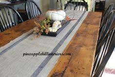 Burlap Table Runner… A How To