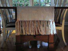 Fringed Burlap Table Runner Tutorial & Giveaway