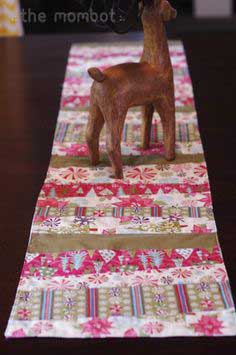 Tutorial: Fabric scrap table runner
