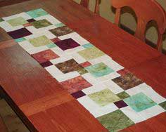 Disappearing Ninepatch Table Runner Tutorial