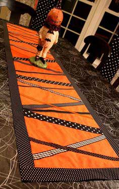 RIBBON TABLE RUNNER TUTORIAL + BENEFIT AUCTION
