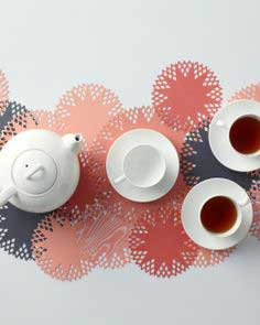 Punched-Circles Table Runner