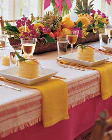 Pulled-Thread Table Runner